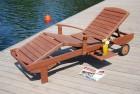 Výrobek: Zahradní dřevěné lehátko MELAS FSC