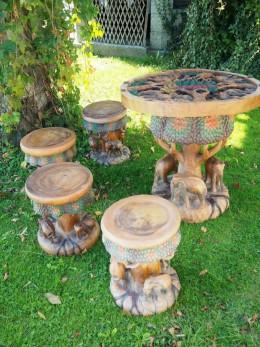 Obrázek výrobku: Souprava z teakového dřeva