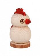 Výrobek: Dřevěná slánka / pepřenka - Kohout