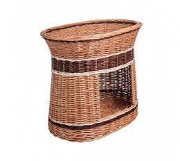 Obrázek výrobku: Proutěný pelíšek s boudou