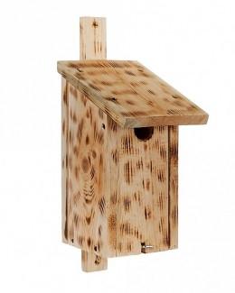 Obrázek výrobku: Dřevěná ptačí budka jedle