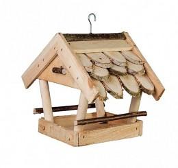 Obrázek výrobku: Dřevěné krmítko pro ptáky