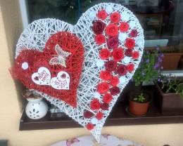Obrázek výrobku: Svatební srdce