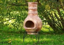 Obrázek výrobku: TERA Venkovní zahradní terakotový krb 80 cm 2