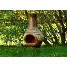 Obrázek výrobku: TERA Venkovní zahradní terakotový krb 90 cm