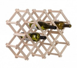 Obrázek výrobku: Dřevěný stojan na víno