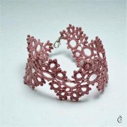 Obrázek výrobku: Náramek - růžové snění