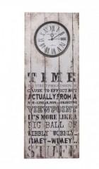 Výrobek: Nástěnné hodiny hranaté time
