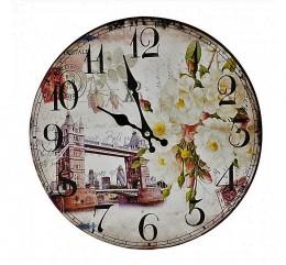 Obrázek výrobku: Nástěnné hodiny Bridge