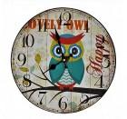 Výrobek: Nástěnné hodiny Sova Happy