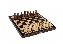 Obrázek výrobku: Dřevěné šachy malé 31 x 31 cm
