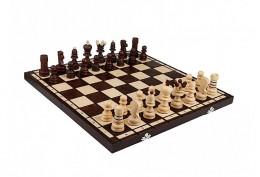 Obrázek výrobku: Dřevěné šachy střední 42 x 42 cm