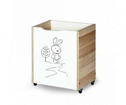 Obrázek výrobku: Koš na hračky zajíček
