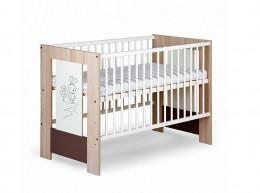 Obrázek výrobku: Dřevěná dětská postýlka zajíček