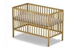 Obrázek výrobku: Dřevěná dětská postýlka přírodní