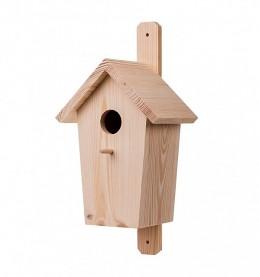 Obrázek výrobku: Dřevěná ptačí budka borovice