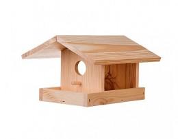 Obrázek výrobku: Dřevěné krmítko pro ptáky borovice