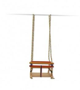 Obrázek výrobku: Dřevěná dětská houpačka