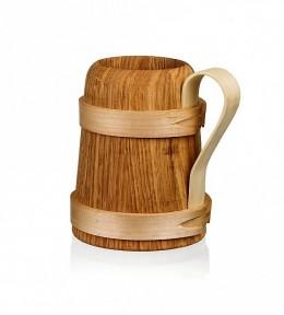 Obrázek výrobku: Dřevěný korbel 2 - uzavírající se