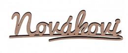 Obrázek výrobku: Dřevěná jmenovka s vlastním textem