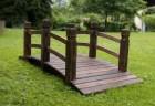 Výrobek: Dřevěný zahradní můstek GARTH