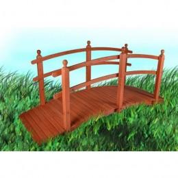 Obrázek výrobku: Dřevěný zahradní můstek - 2,5 m