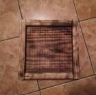 Výrobek: Dřevěný čtvercový podnos