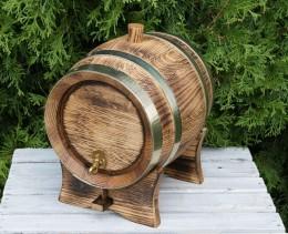 Obrázek výrobku: Soudek na víno a destiláty - dub - ohněm žíhaný