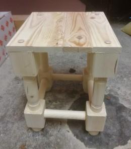 Obrázek výrobku: Dřevěná stolička