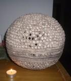 Výrobek: Keramický svícen - koule střední