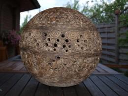 Obrázek výrobku: Keramický svícen - koule velká