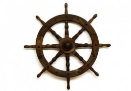 Obrázek výrobku: Dřevěné kormidlo - 80 cm