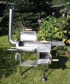 Výrobek: Zahradní gril z nerez oceli - malý