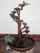 Výrobek: Pokojová fontána - SPIRÁLA S KULATOU VANOU