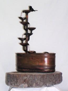 Obrázek výrobku: Pokojová fontána - ŠÁLKOVÝ ZÁVIT S OVÁLNOU VANOU