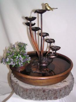 Obrázek výrobku: Pokojová fontána HŘIB S MÍSOU