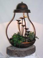 Výrobek: Pokojová fontána HŘIB S OSVĚTLENÍM