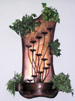 Obrázek výrobku: Pokojová fontána HŘIBOVÁ STĚNOVÁ MÍSA