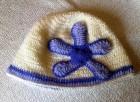 Výrobek: Dětská čepička FIALKA