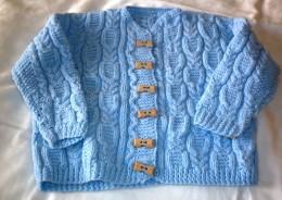 Obrázek výrobku: Pomněnkový svetřík
