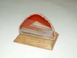 Obrázek výrobku: Achátový svícen - JAHODOVÝ