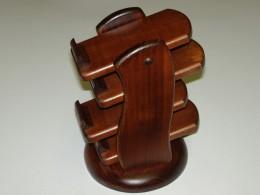 Obrázek výrobku: Stojánek na dálkové ovládače - čtyřpatrový - třešeň3