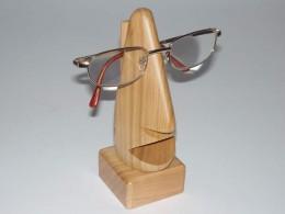 Obrázek výrobku: Nos na brýle - velký - třešeň