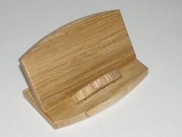 Obrázek výrobku: Stojánek na vizitky - lakovaný dub
