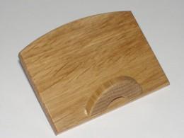 Obrázek výrobku: Stojánek na vizitky - přírodní dub2