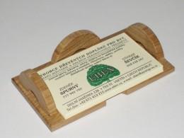 Obrázek výrobku: Stojánek na vizitky - přírodní lakovaný dub