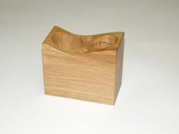 Obrázek výrobku: Stojánek na kancelářské potřeby - dub, barva přírodní