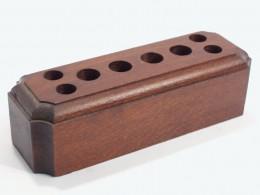 Obrázek výrobku: Stojánek na psací potřeby3 - buk, povrch mořený a lakovaný