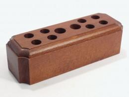Obrázek výrobku: Stojánek na psací potřeby4 - buk, mořený, povrch lakovaný