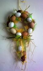 Výrobek: Velikonoční věnec z - přírodní